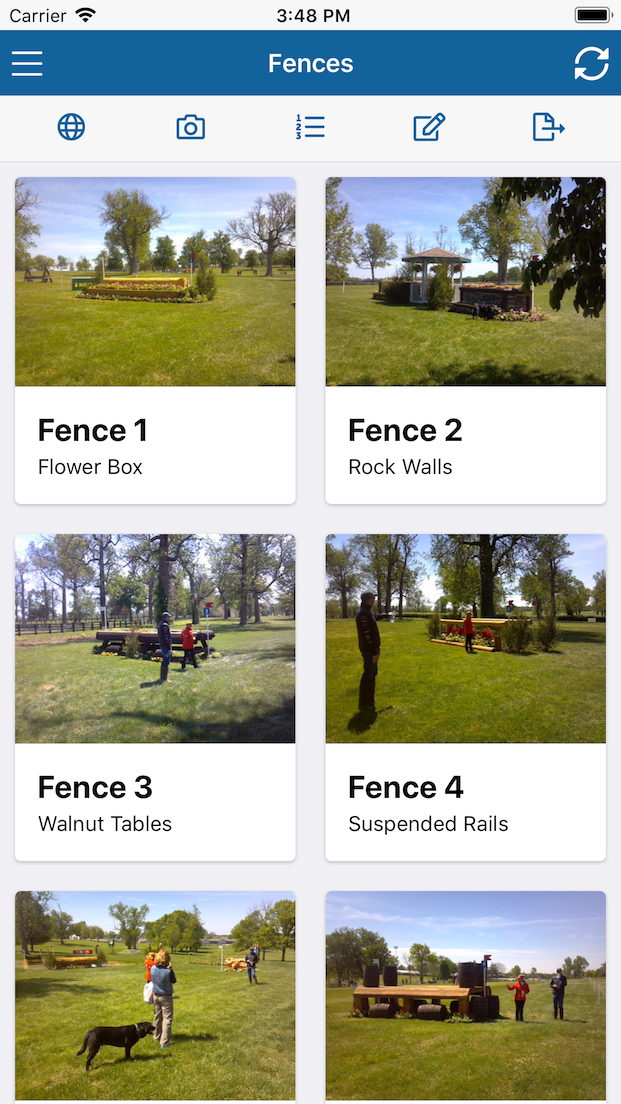 Fence picture gallery
